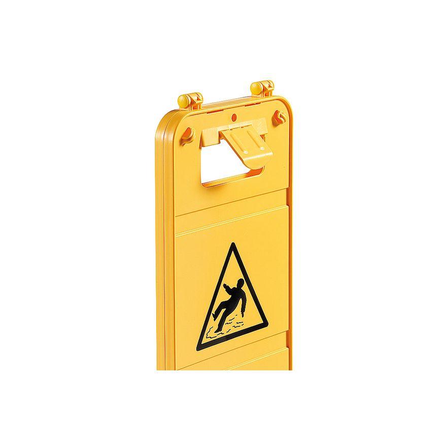 Filmop segnale in plastica avviso pavimento bagnato xpulire - Segnale pavimento bagnato ...